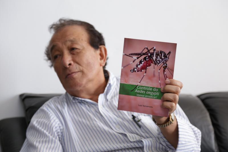 """Isadora Crivelli:Yamamoto: """"Eu acredito que posso acabar com o mosquito da dengue"""""""