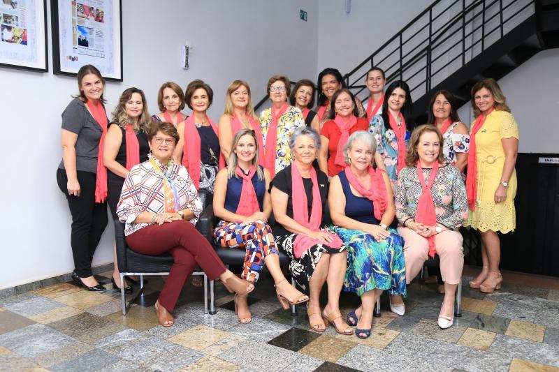 Weverson Nascimento: Grupo de mulheres da BPW Presidente Prudente esteve na sede de O Imparcial