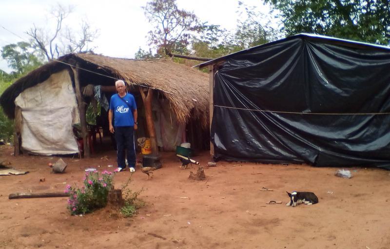 Cedida/ Odair Carlos Biscola - Odair: alegria em conhecer novas experiências e uma cultura diferente