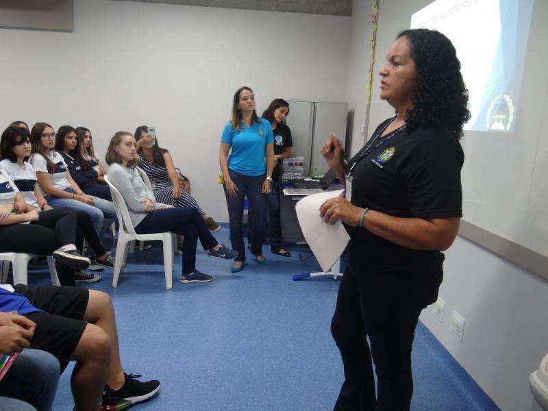 Cedida - Alunos do ensino médio receberam informações sobre importância do alistamento eleitoral