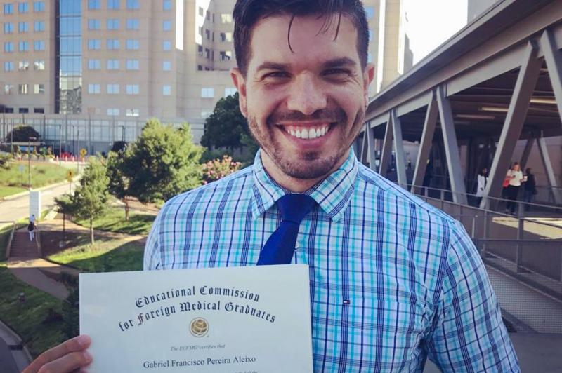 National Resident Matching Program confirmou ontem a aprovação de Gabriel Aleixo: primeiro médico formado pela Unoeste a conquistar uma vaga para residência médica nos EUA