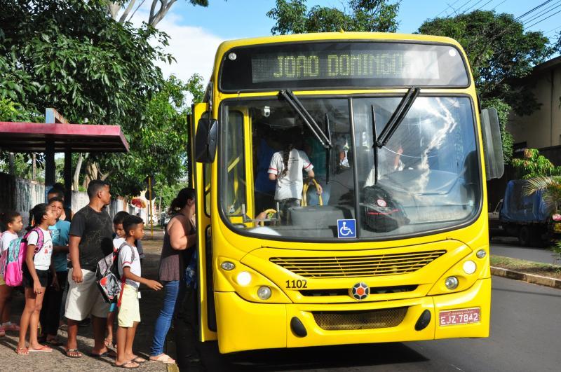 Arquivo - Empresa foi orientada a adotar medidas para evitar superlotação em ônibus
