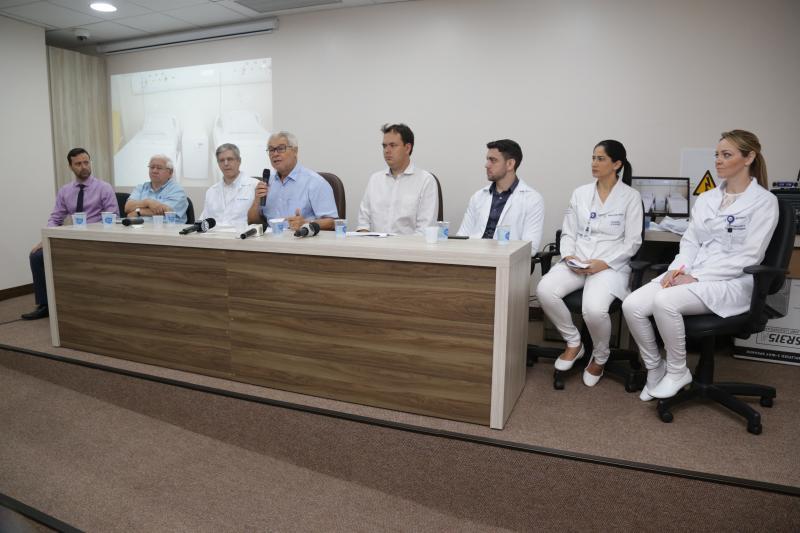 Marco Vinicius Ropelli - Representantes da diretoria e corpo clínico de HRCPP tiraram dúvidassobre o centro de tratamento
