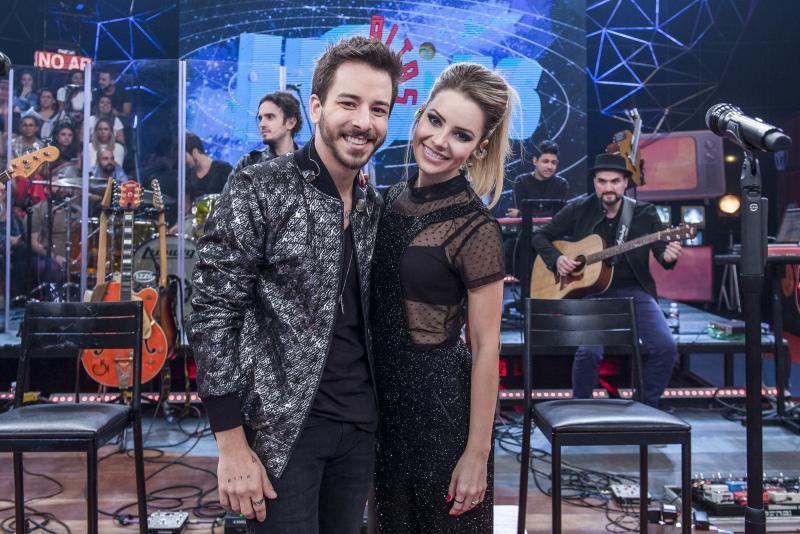 """Fabio Rocha/TV Globo - Reprise com a dupla no """"Altas Horas"""" foi exibida na noite de sábado"""