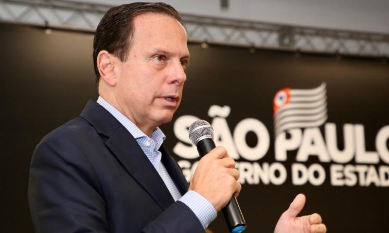 Governo do Estado de São Paulo - Dória diz que repasses emergenciais começam agora em abril