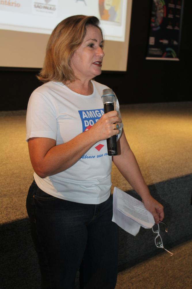 Cássia Sperini, presidente do Grupo Amigas do Peito