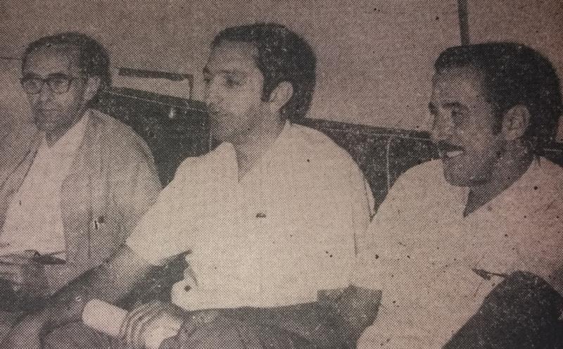 Luiz Mauricio Sandoval, Antonio Macca e Adalberre Marini - 70