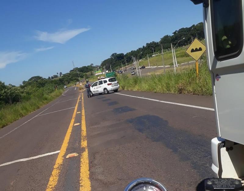 Reprodução/Rede Social: Acidente ocorreu na na Rodovia Ângelo Rena
