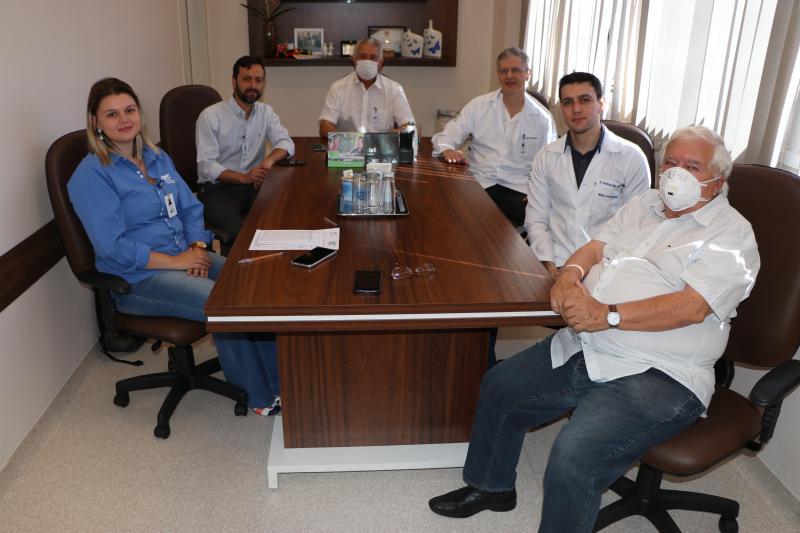 AI do HRCPP - Ações de enfrentamento foram discutidas pelos representantes da diretoria e corpo clínico do HRCPP