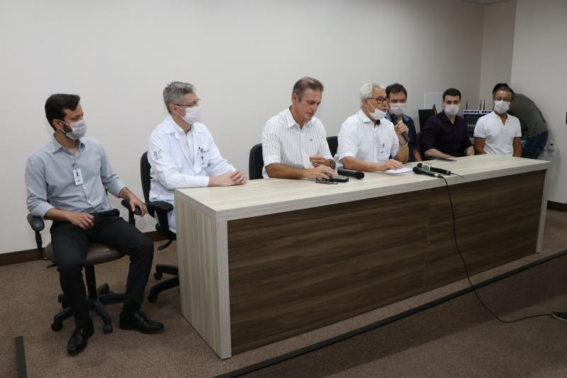 Daniel Teixeira - Reunião foi realizada na tarde de ontem, no auditório do HRCPP