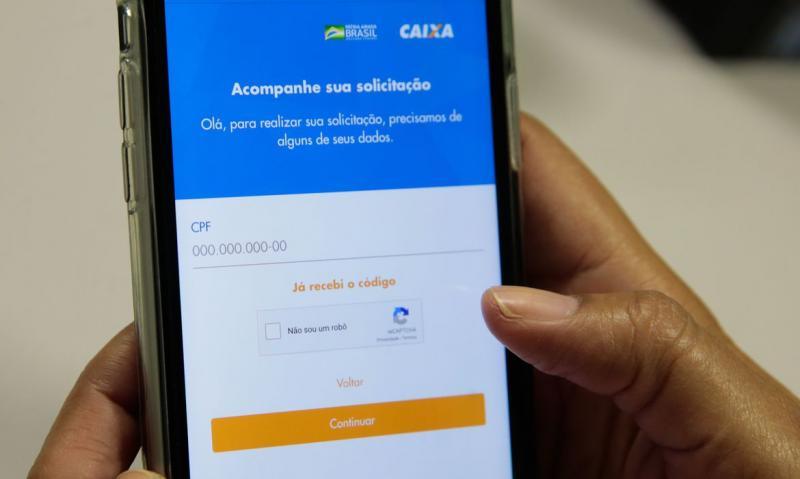 Marcello Casal Junior/Agência Brasil - Processamento está sendo realizado para efeito do pagamento do auxílio emergencial