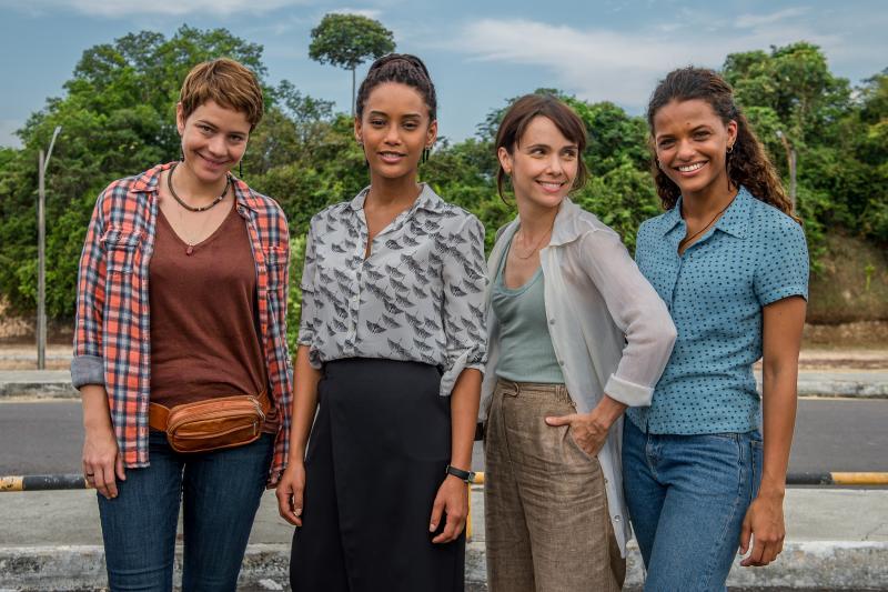"""Fábio Rocha / TV Globo - Leandra Leal, Taís Araújo, Débora Falabella e Thainá Duarte estão no elenco de """"Aruanas"""""""