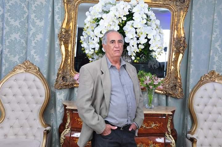 Cedida - Luiz Flor foi sepultado no Cemitério Municipal São João Batista