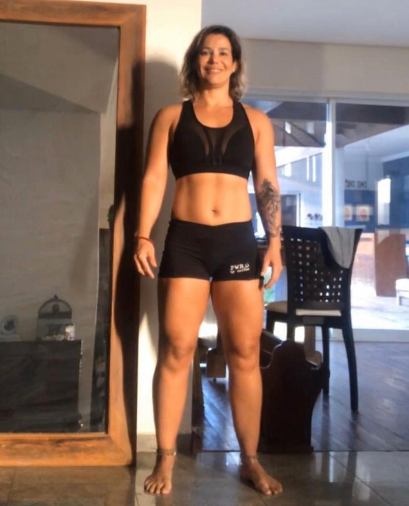 Nutricionista e atleta de crossfit, Candice Ballalai