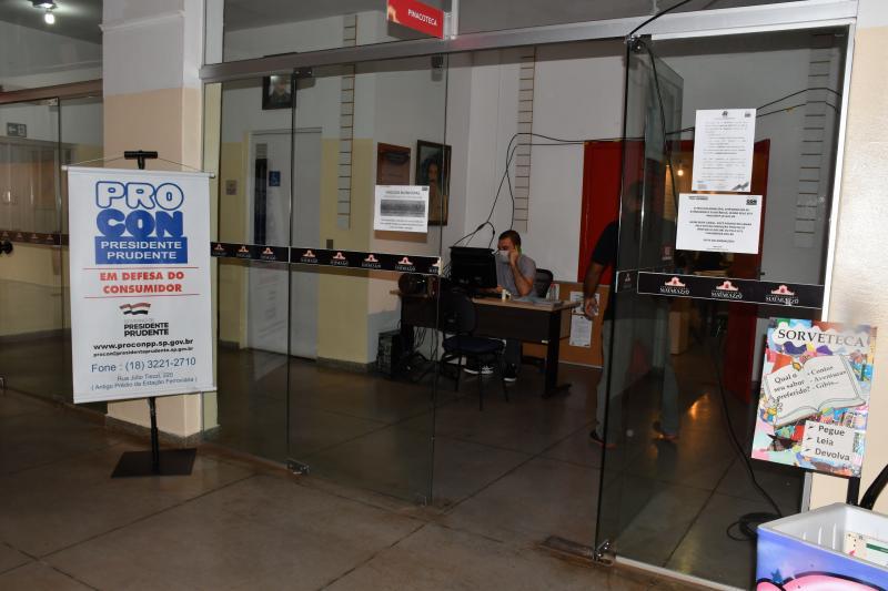 Marcos Sanches/Secom - Atendimento pessoal foi retomado, mas prioriza consumidores que não têm acesso à internet