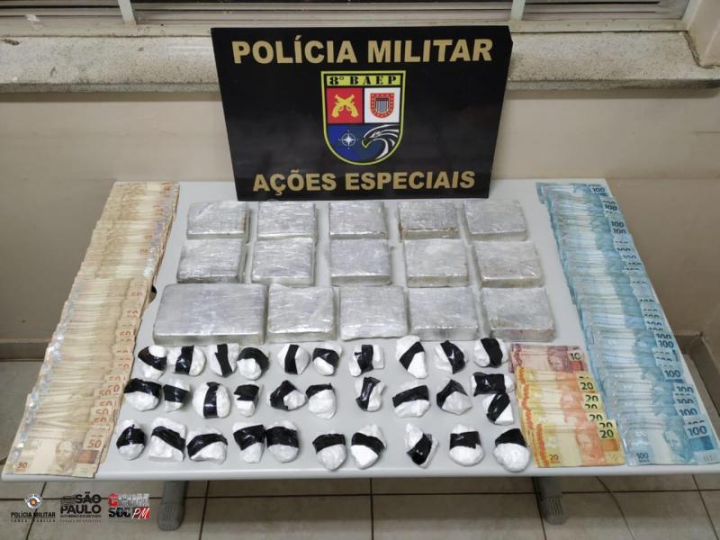 Polícia Militar - Ocorrência foi registrada na Delegacia de Polícia Civil