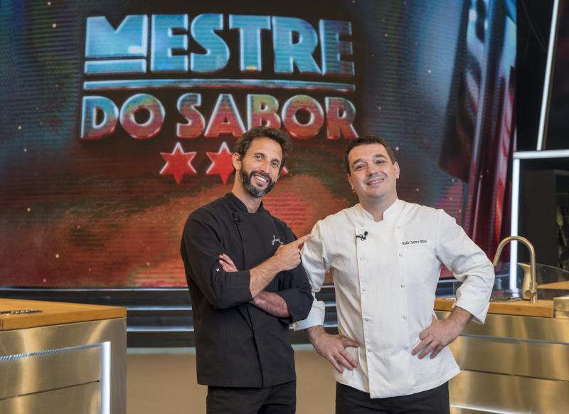 """Camilla Maia / TV Globo - Chef Rafael Costa e Silva estreia em o """"Mestre do Sabor"""", no lugar de José Avillez"""