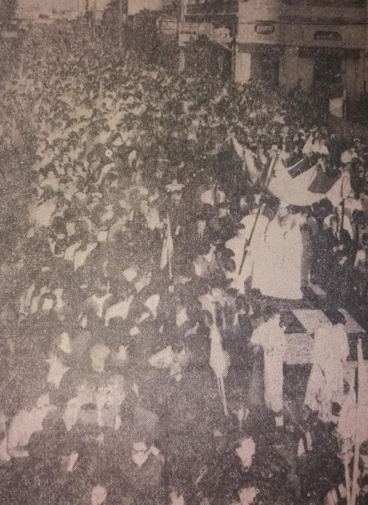 Milhares de prudentinos acompanharam procissão em honra ao Santíssimo Sacramento