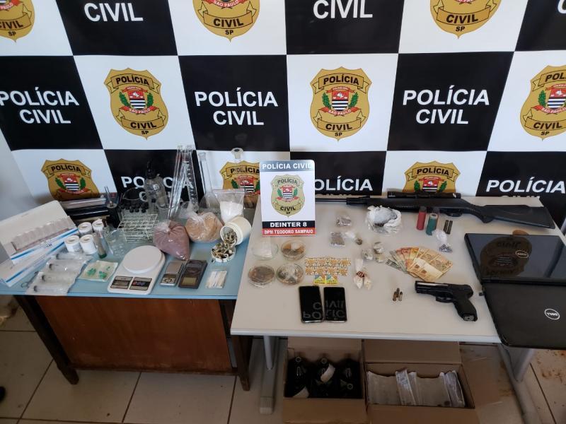 Polícia Civil - Operação Páris foi deflagrada na manhã de hoje