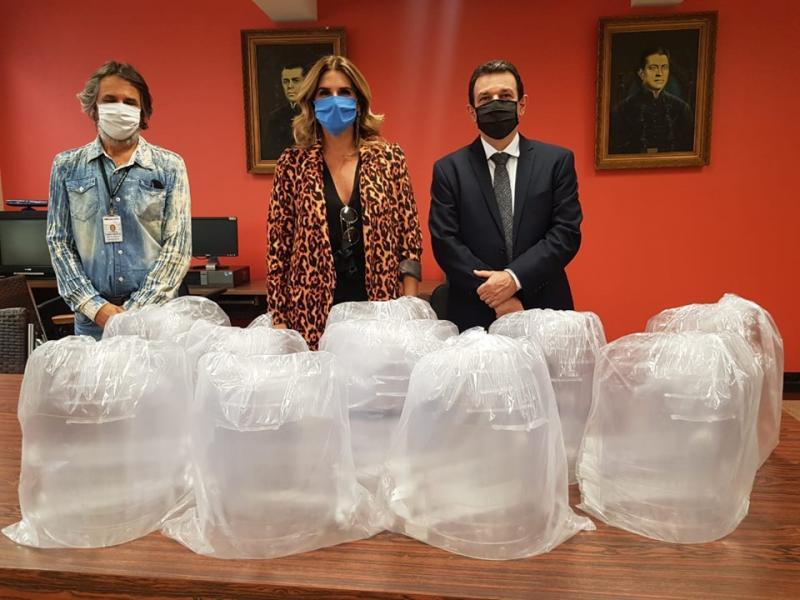 Toledo Prudente - Máscaras serão destinadas aos oficiais de Justiça, vigilantes e outros profissionais que continuam os atendimentos presenciais