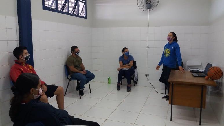 Marcos Chicalé - Nesta semana, aulas são teóricas e, nos próximos dias, ocorrerão de forma prática