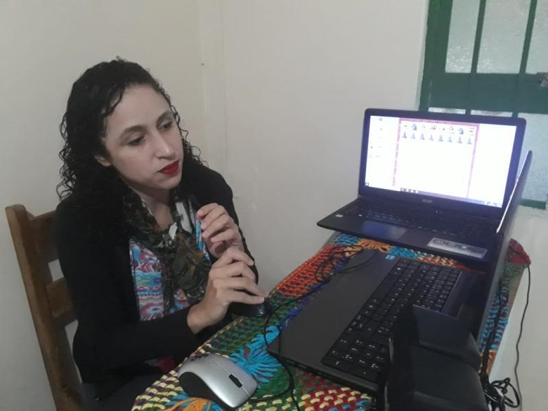 Cedida - Nicole Pi Chillida associou a paixão pelo xadrez ao dom de ensinar