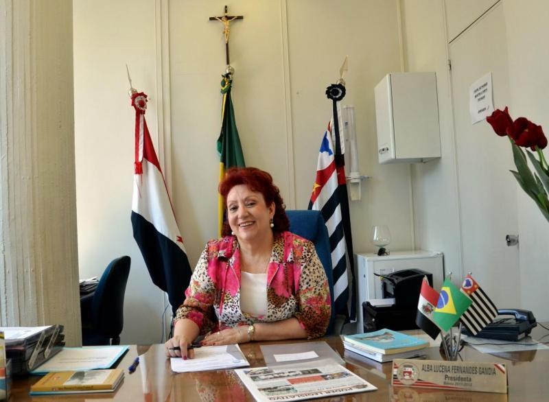 Cedida - Alba Lucena: única mulher presidente da Câmara de Prudente