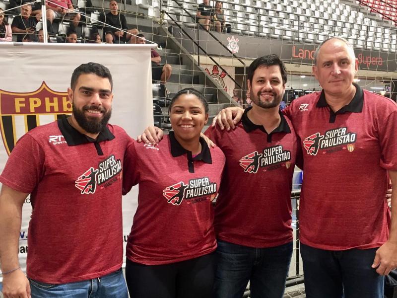 Cedida - Membros da FPHb: Matheus Betoni, Leticia Rodrigues, Diego Abreu e Paulo Rogério Moratore