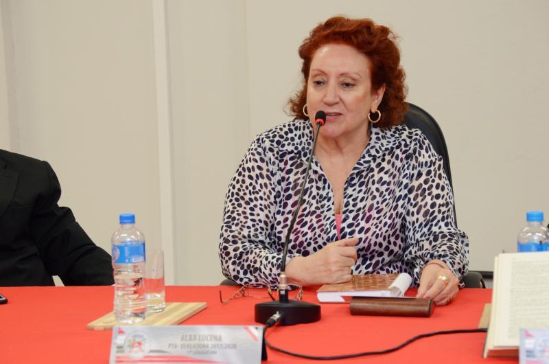 Arquivo:Alba foi um dos votos contrários à Comissão Processante