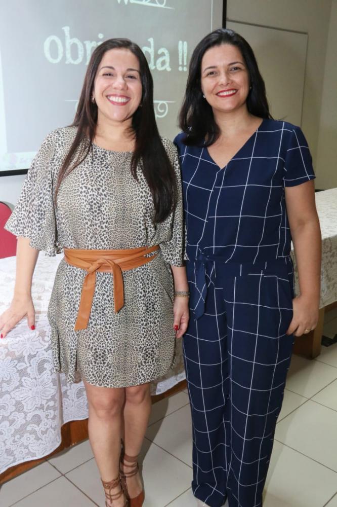 As psicólogas Cristiane Madeira e Rosangela Zamineli