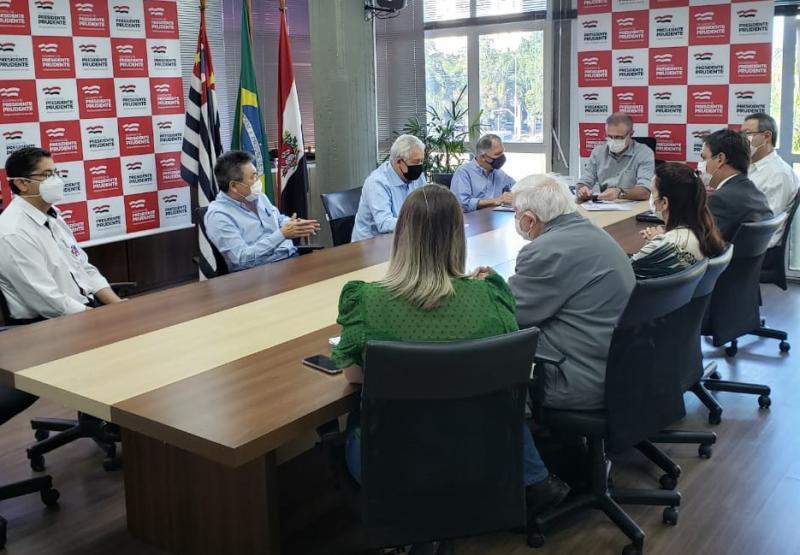 Secom:Reunião com autoridades ocorreu ontem, em Prudente
