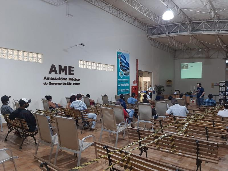AI do AME - Encontros  respeitam as normas de distanciamento social e higienização