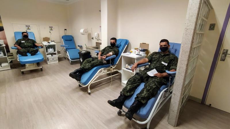 Polícia Militar Ambiental - Estoques de sangue caem durante esta época do ano