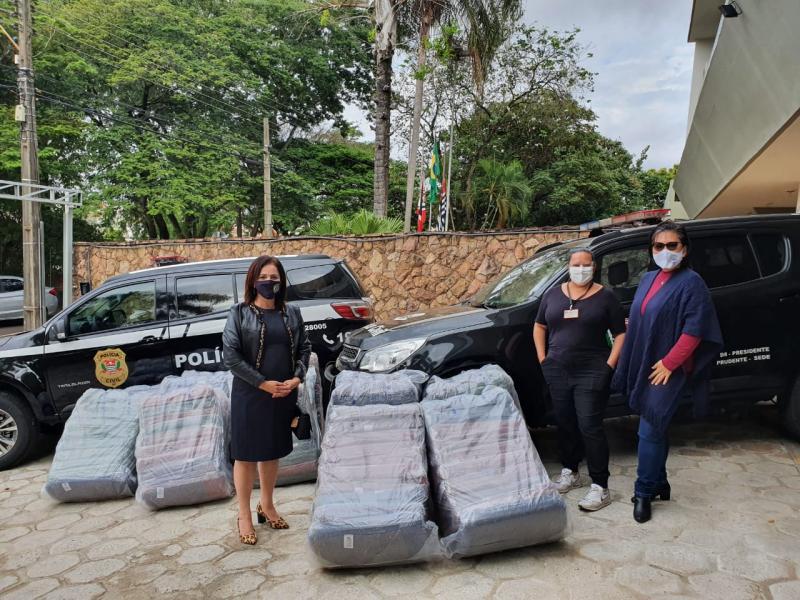 Polícia Civil - Outros municípios da região também receberão as doações
