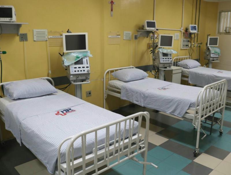AI do HR - Hospital conta com 38 leitos exclusivos para casos do novo coronavírus