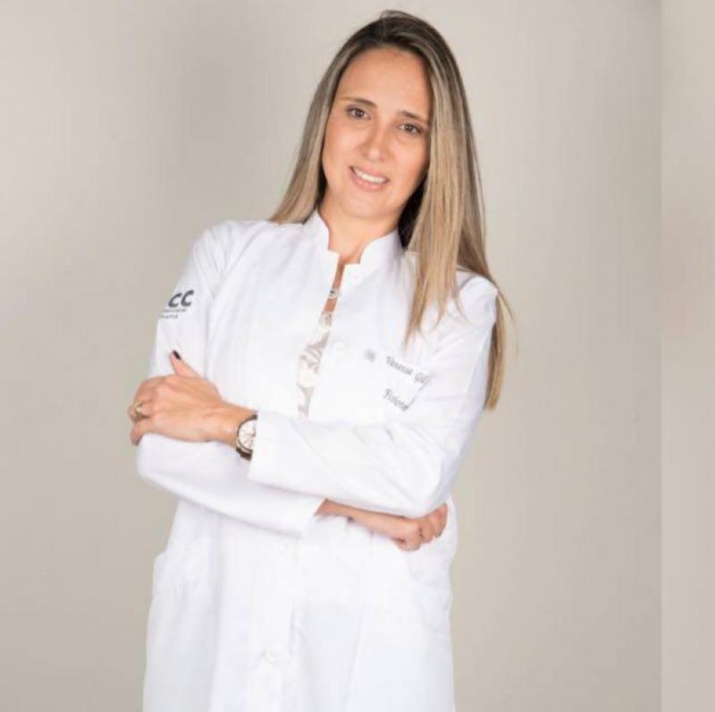 Vanessa Gil Luizari, da Clínica ICC Fisioterapia