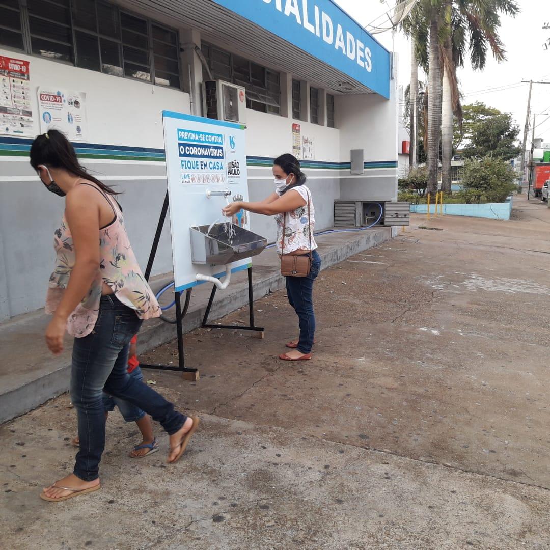 Sabesp - Rosana é um dos municípios contemplados com lavatórios