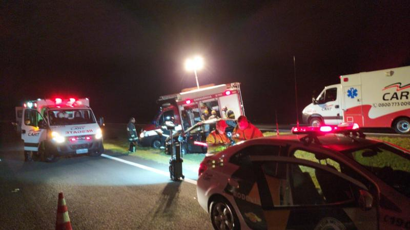Polícia Militar Rodoviária - Circunstâncias do acidente estão sendo investigadas