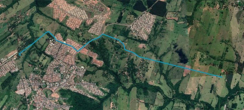 Energisa - Nova linha de distribuição de 6,4 km de extensão passará por alguns trechos da área urbana e em algumas áreas rurais