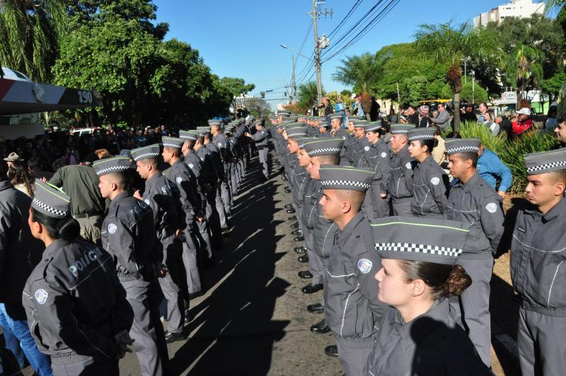 Arquivo: Nos últimos 22 anos, PMs e entidades civis marcharam sobre as ruas de Prudente em 9 de julho