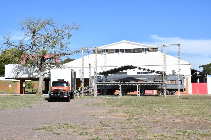 Marcos Sanches - Show Drive In Prudente ocorre de 17 a 19; palco terá 12m de comprimento por 8m de largura