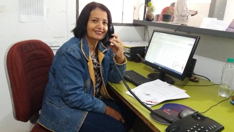 Arquivo pessoal - Maria Helena diz que só tem a agradecer por esses 26 anos de trabalho na Secretaria de Esportes