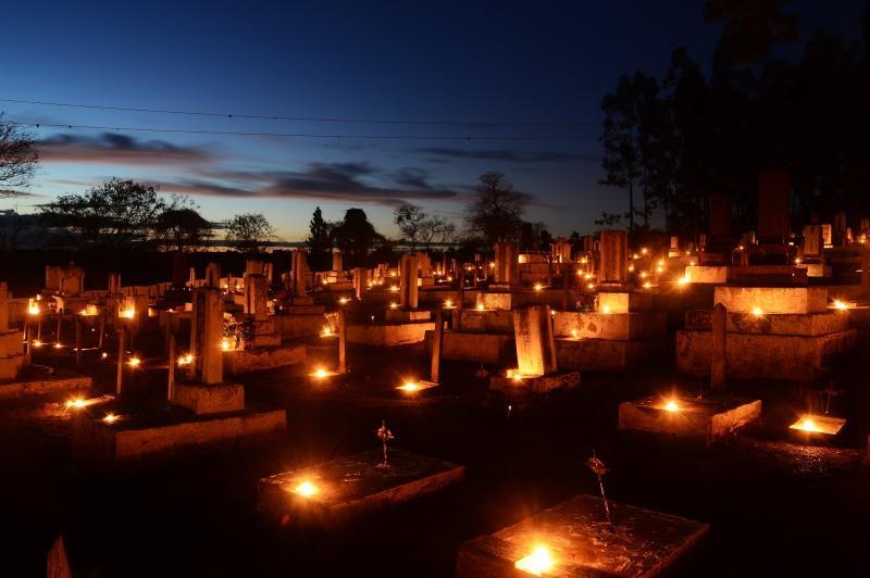 Estevão Salomão/Arquivo - O tradicional Ritual das Velas ocorrerá a partir das 17h