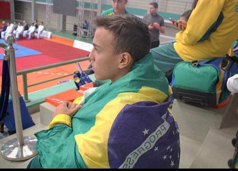Cedida - Gustavo teve grandes conquistas com a seleção brasileira