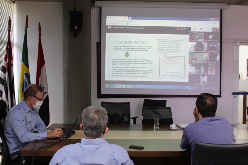 Mariana Padovan - Projeto foi apresentado durante videoconferência nesta segunda-feira