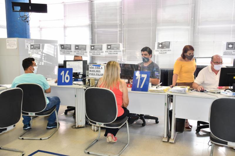 Marcos Sanches/Secom - Atendimento presencial é feito na Coordenadoria Fiscal, no térreo da Prefeitura