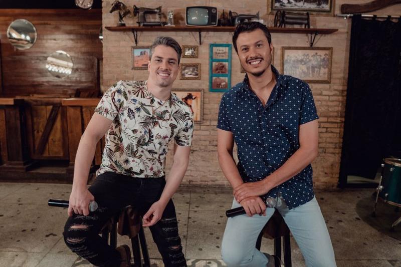 Divulgação - Dupla João Marcelo e Juliano se apresentará em live solidária