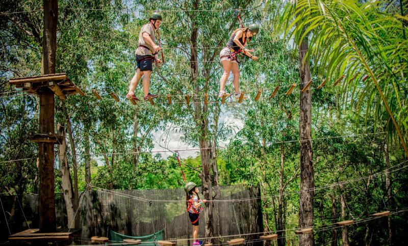 Cedida/ Terra Parque Eco Resort - Terra Parque conta com uma área de 224 mil m² em meio à natureza, com diversas opções de lazer e aventura