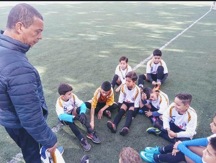 Arquivo Pessoal - Desde 93 Sebastião é professor da escolinha de futsal
