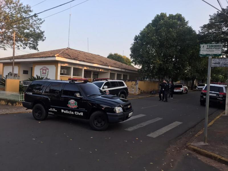 Polícia Civil - Buscas ocorreram na manhã de hoje, em imóveis de Taciba
